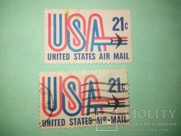 Марка USA 21с