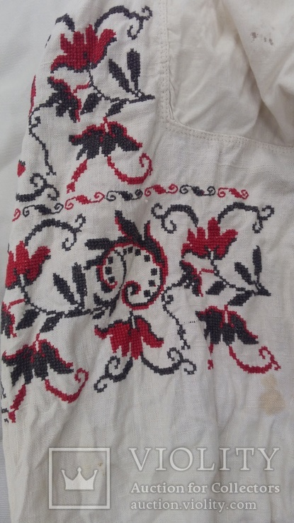 Небольшая вышиванка СССР, фото №4