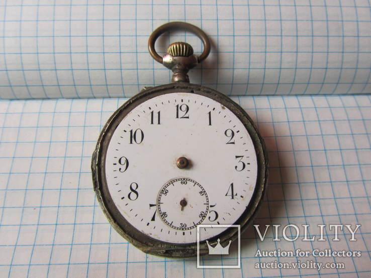 Часы серебряные
