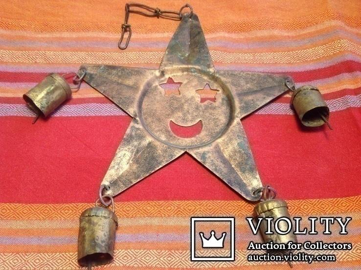 « Звезда с колокольчиками» /звук ветра, фото №6