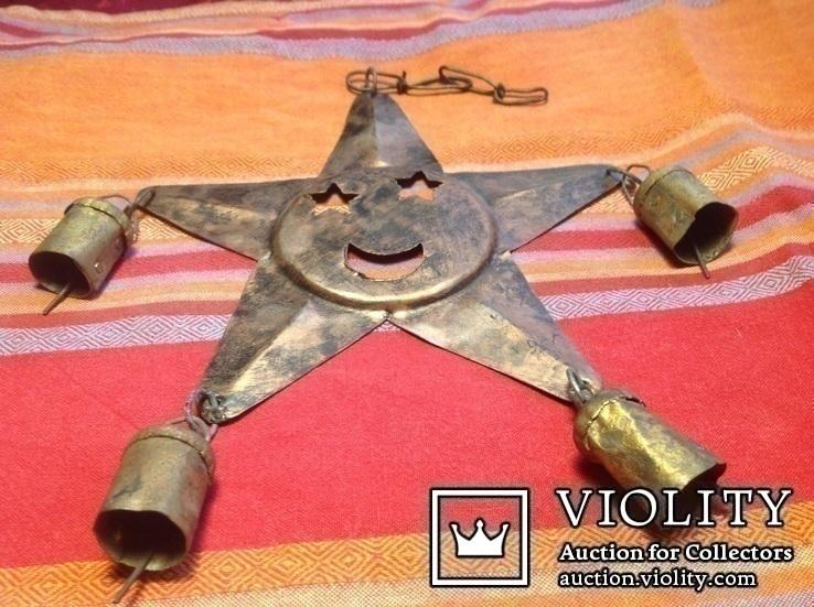 « Звезда с колокольчиками» /звук ветра, фото №8