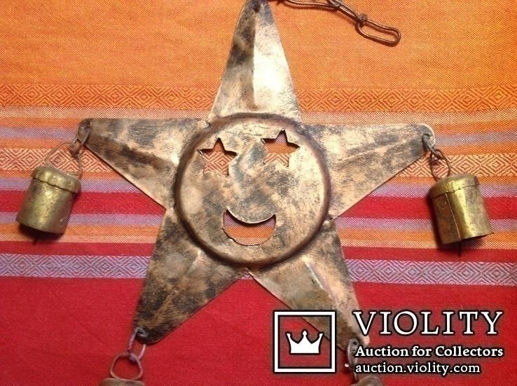 « Звезда с колокольчиками» /звук ветра, фото №2