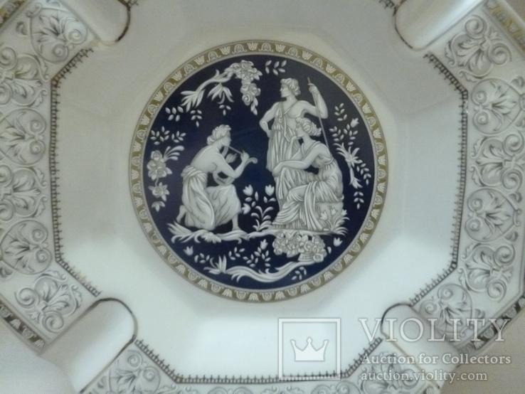 Пепельница Venetian Lagoon Fine porcelain., фото №4