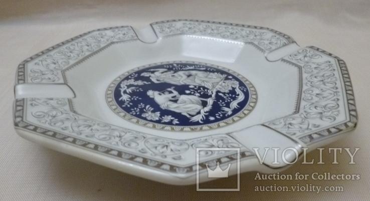 Пепельница Venetian Lagoon Fine porcelain., фото №5