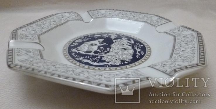 Пепельница Venetian Lagoon Fine porcelain., фото №6