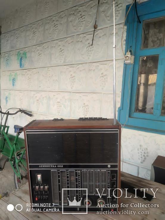 Радиоприемник Ленинград 002, фото №2