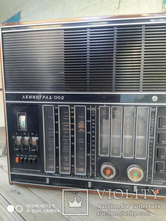 Радиоприемник Ленинград 002, фото №3