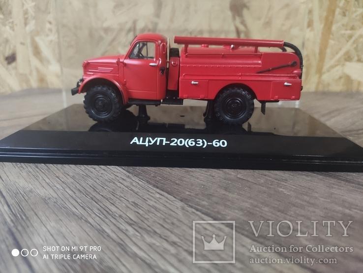 Масштабная модель Пожарная машина АЦУП-20(63)-60 от DIP-Models1/43, фото №2