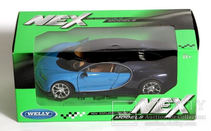 1:24 Bugatti Chiron, фото №5