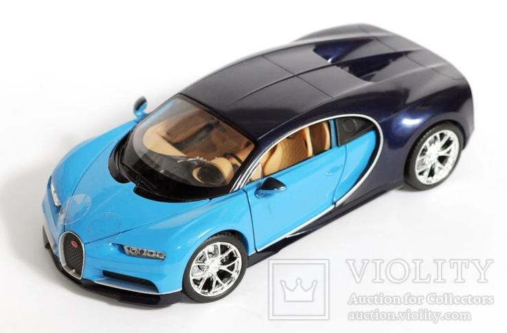 1:24 Bugatti Chiron, фото №6