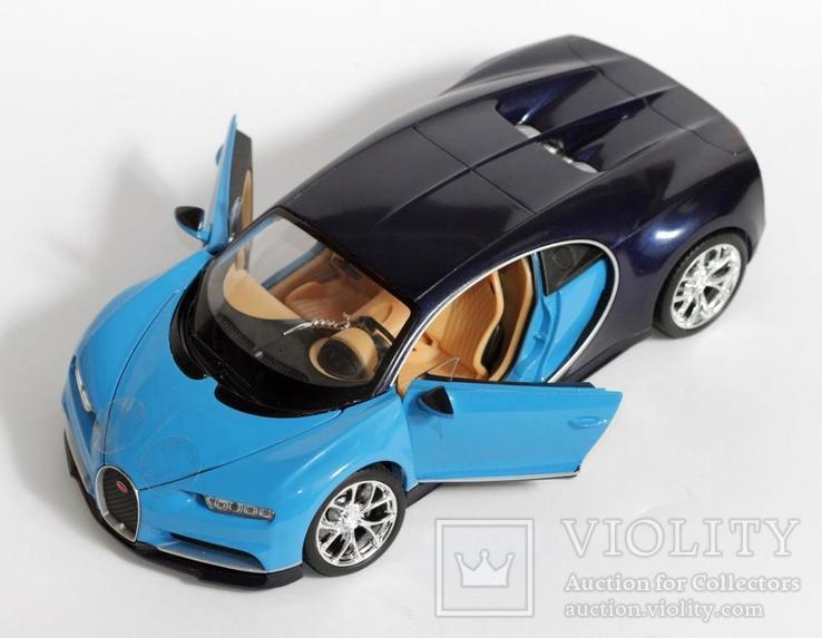 1:24 Bugatti Chiron, фото №7