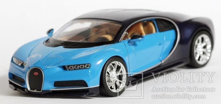 1:24 Bugatti Chiron, фото №2