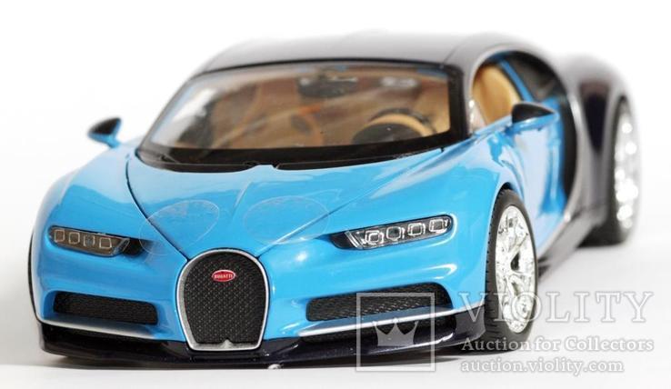 1:24 Bugatti Chiron, фото №8