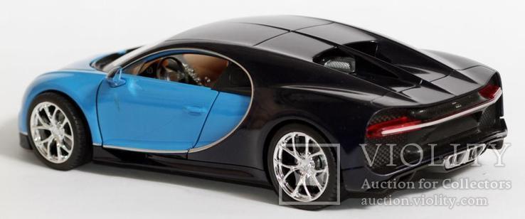 1:24 Bugatti Chiron, фото №11