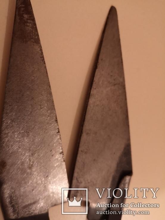 Ножницы для стрижки овец барашков новые винтаж СССР, фото №7