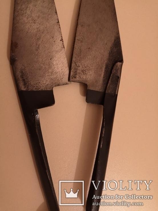 Ножницы для стрижки овец барашков новые винтаж СССР, фото №9