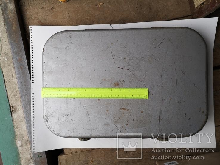 Чемодан кейс саквояж дипломат ящик для инструментов армейский, фото №2