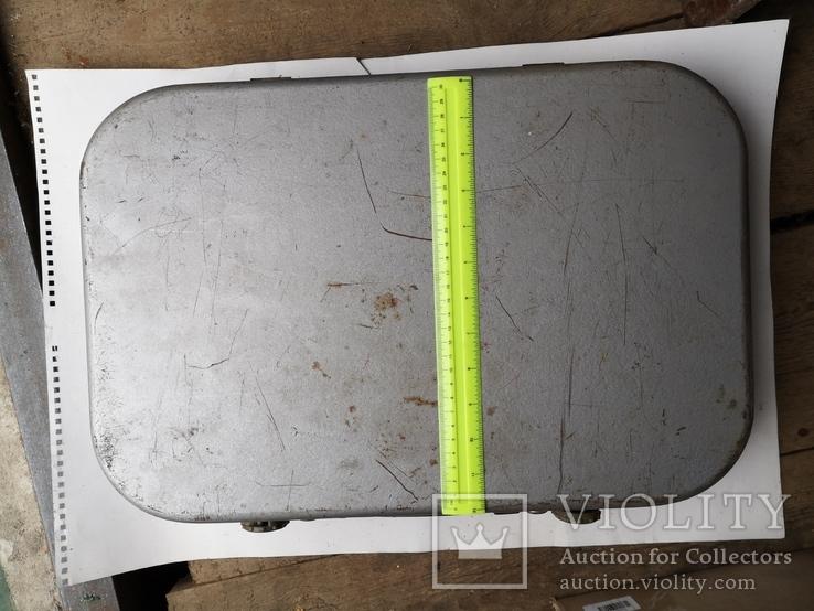 Чемодан кейс саквояж дипломат ящик для инструментов армейский, фото №4