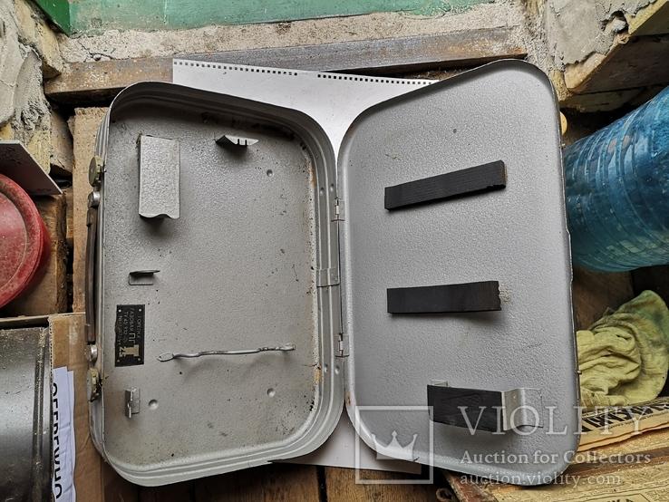 Чемодан кейс саквояж дипломат ящик для инструментов армейский, фото №3