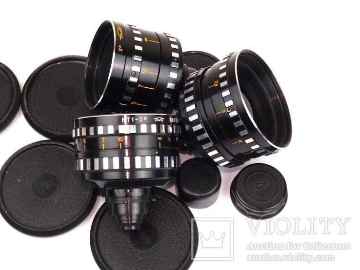 Объективы с кинокамер (8 штук), фото №11