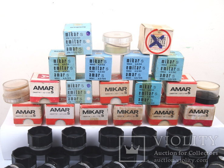 Объектив MIKAR AMAR EMITAR (53 штуки), фото №3
