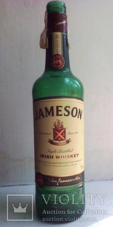 Бутылка от виски Джемесон., фото №2