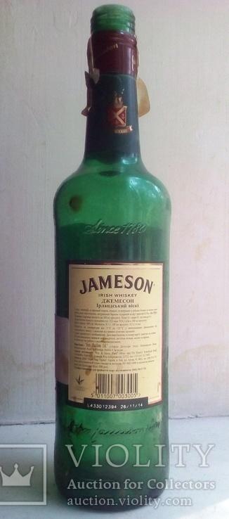 Бутылка от виски Джемесон., фото №3