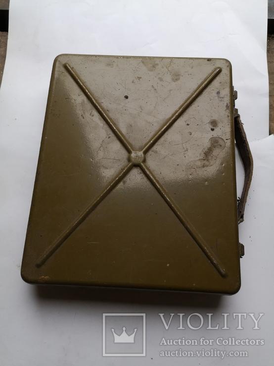 Ящик для инструментов армейский кейс дипломат чемодан СССР, фото №8