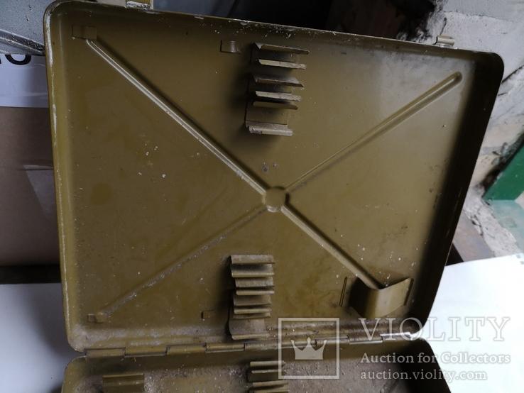 Ящик для инструментов армейский кейс дипломат чемодан СССР, фото №11