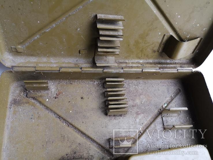 Ящик для инструментов армейский кейс дипломат чемодан СССР, фото №12