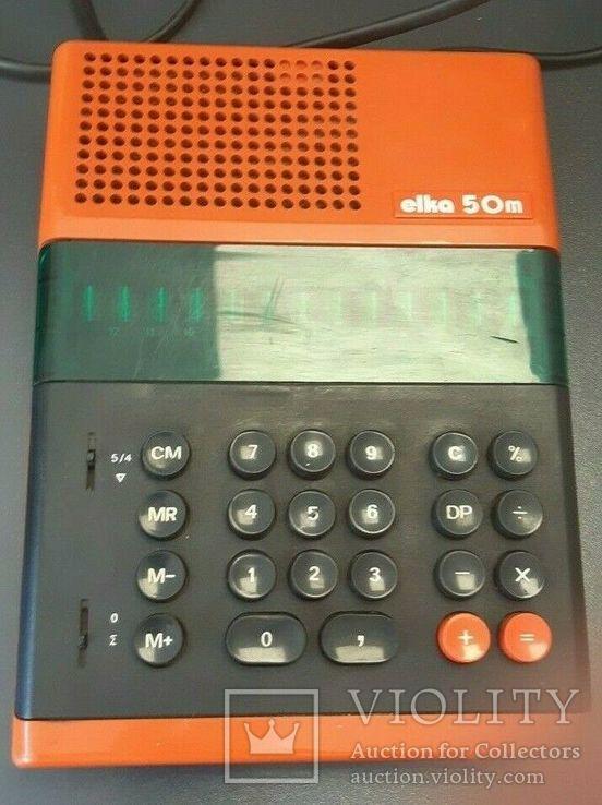 Калькулятор 1970-е Elka 50 M, фото №4