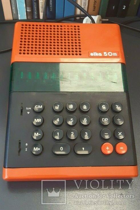 Калькулятор 1970-е Elka 50 M, фото №13