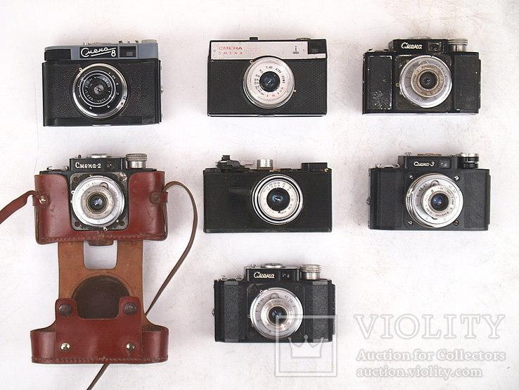 Фотоаппарат СМЕНА (7 штук), фото №2