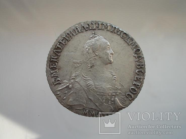 Полуполтинник 1768 ммд, фото №3