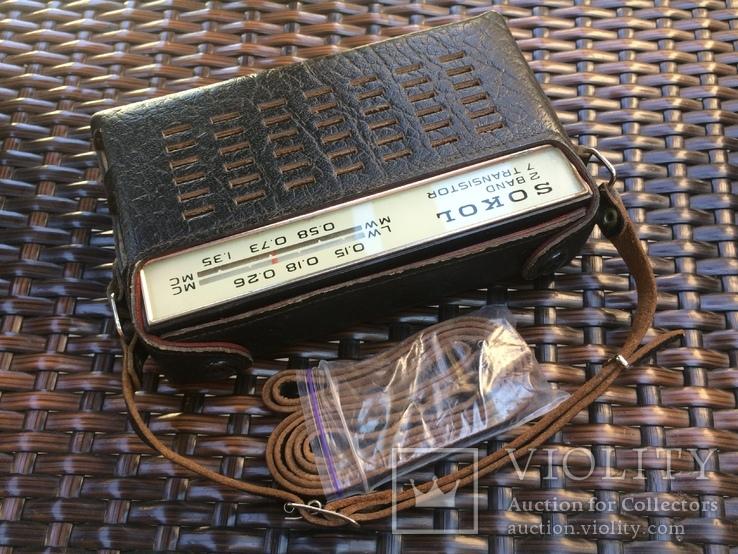 Радиоприёмник «Сокол».Винтаж., фото №3