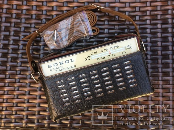 Радиоприёмник «Сокол».Винтаж., фото №2