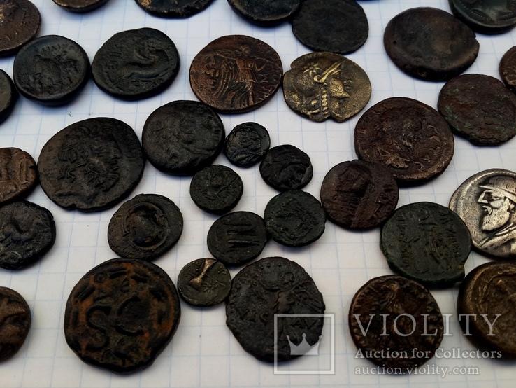 Тенедос, Маронея, Пергам, Эфес, Милет, Родос, Парфия...- 40 монет