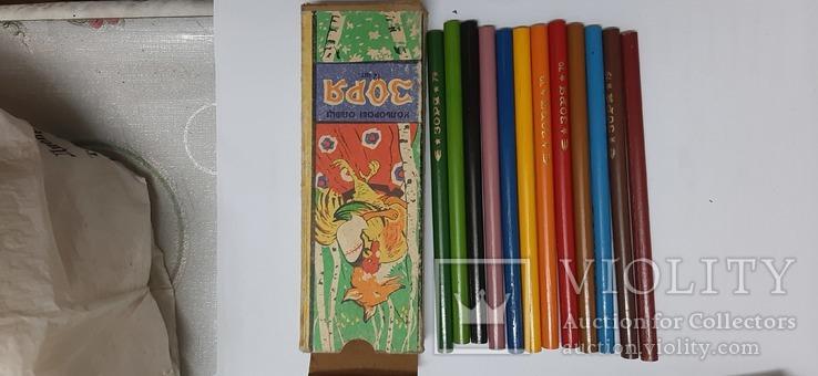 Карандаши цветные, фото №3