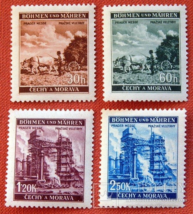 Серія «Празький ярмарок». MNH. 1941р. Богемія і Моравія.