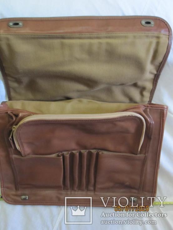 Портфель кожаный., фото №2