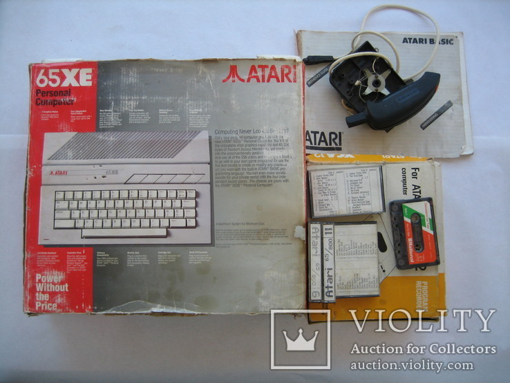 Компютер Atari 65XE, фото №12