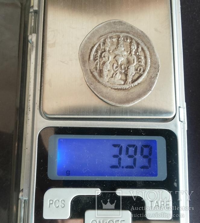 Драхма, Хосро І  531 г.х  1137 год, фото №7