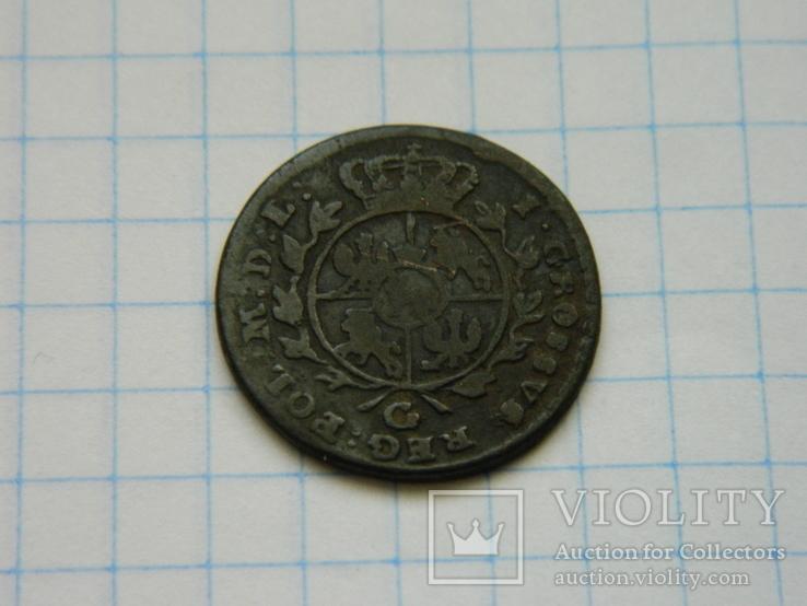 Грош 1767, фото №4