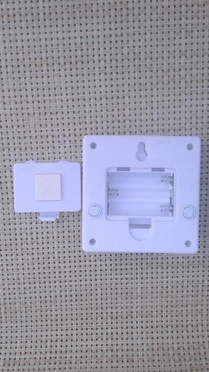 Светильник-выключатель клавишный светодиодный на батарейках, фото №6