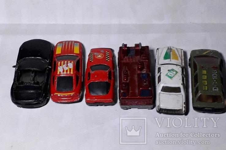 Машинки 6 шт., фото №4