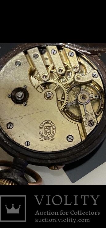 Карманные часы GEORGES FAVRE JACOT grand prix paris 1900 billodes