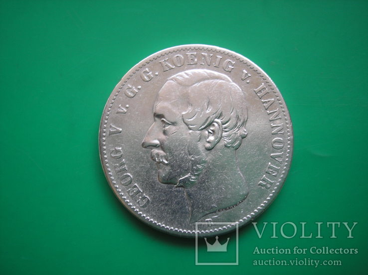 Ганновер 1854 Талер, фото №6