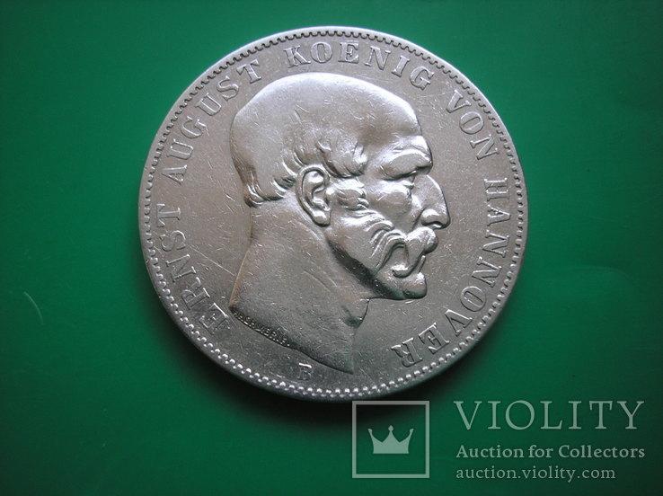 Ганновер 1850 талер, фото №3