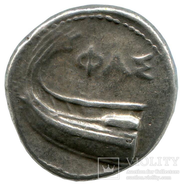 Статер 4в.до н.э. Ликия. Фаселис, фото №3