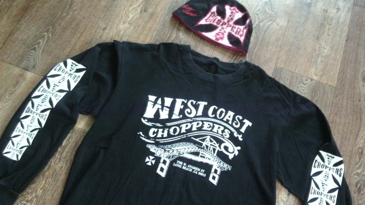 West Coast Choppers(XXL) - свитер + шапка, фото №2